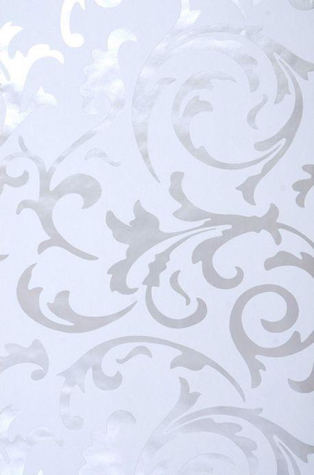 Archiv Carta da parati Medusa bianco grigiastro Larghezza rotolo