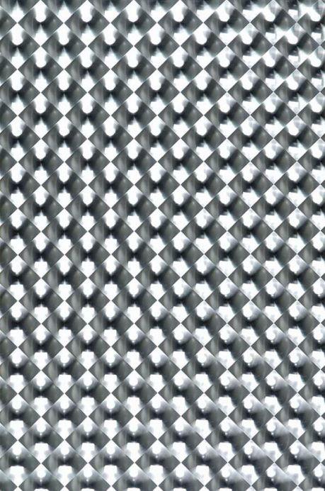 Papel de parede Papel de parede Cassiopeia prata lustre Largura do rolo