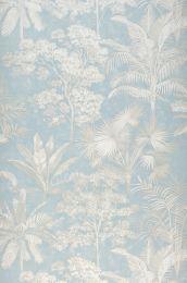 Papier peint Alenia bleu clair
