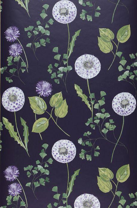 Archiv Papel pintado Tauria violeta carmesí Ancho rollo