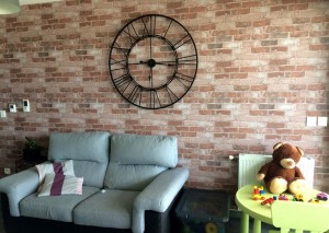 Wallpaper Urango Matt Bricks Brown tones