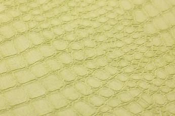 Papel de parede Caiman verde amarelado claro