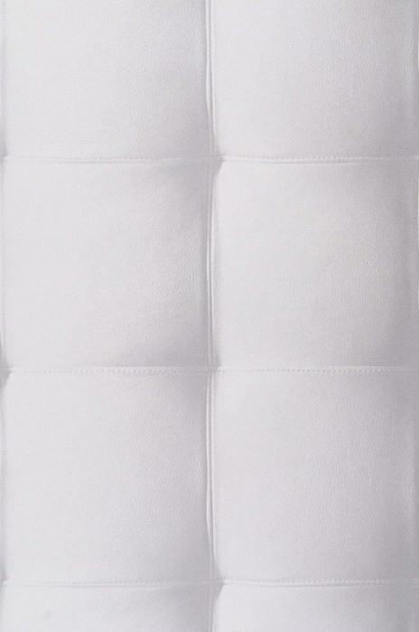 Wallpaper Kadmos Shimmering Imitation leather Cream Platinum grey