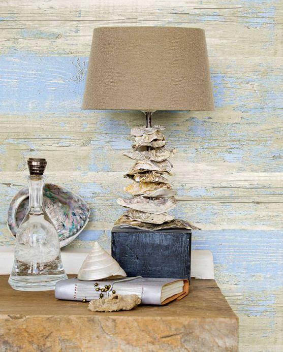Archiv Papel pintado Sakul azul claro Ver habitación