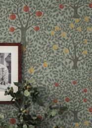 Papel de parede Berita cinza musgo