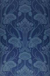 Papel pintado Sibia azul oscuro