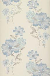 Papel pintado Desire azul grisáceo pálido