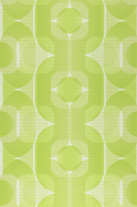 Archiv Wallpaper Sinon yellow green Roll Width