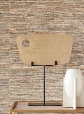Papel de parede Grass on Roll 13 cor de palha Raumansicht