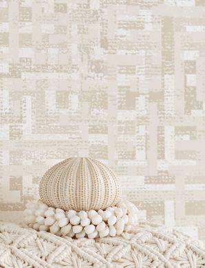 Wallpaper Masai cream Room View