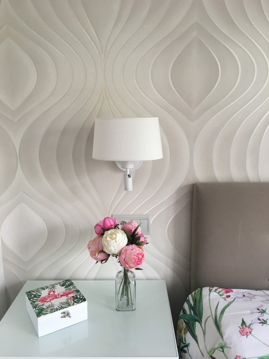 Wallpaper Tirion Shimmering Ellipses Cream