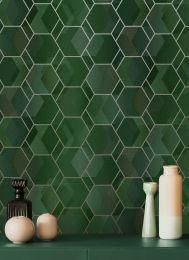 Papel pintado Opalino tonos de verde
