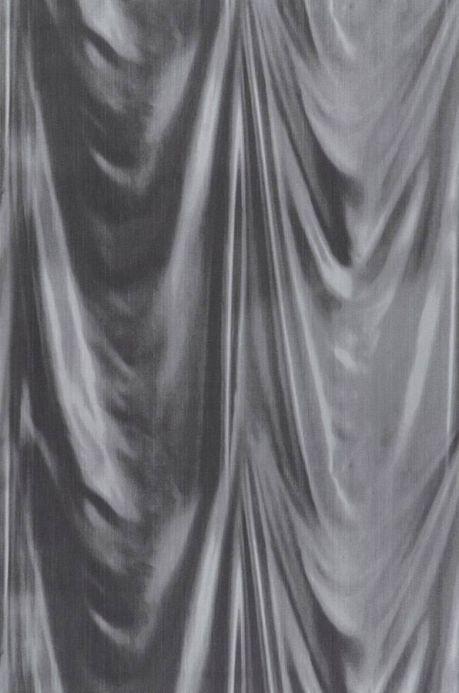 Archiv Papel pintado Vogue gris negruzco Ancho rollo