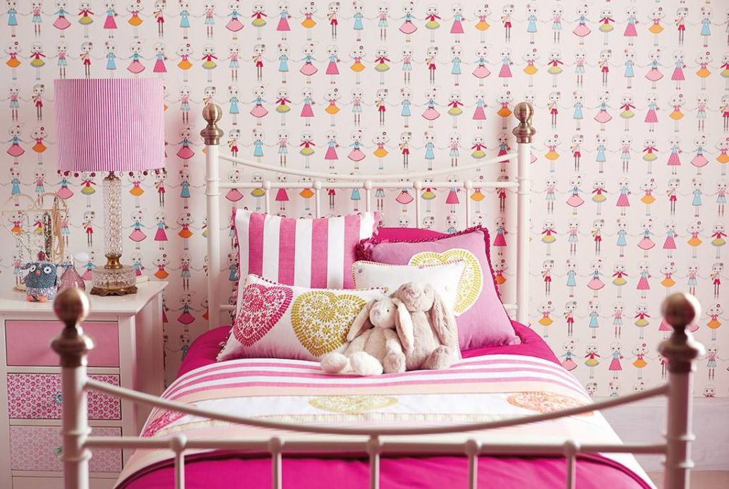 Children's Wallpaper Wallpaper Gines light blue Room View