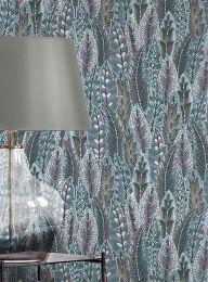 Wallpaper Malu pastel violet