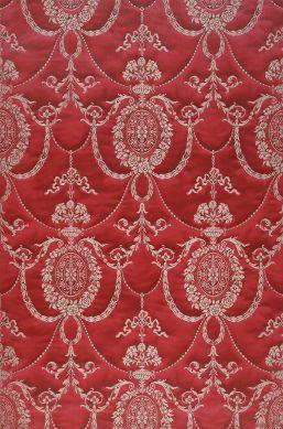 Papier peint Rabia rouge pourpre Largeur de lé