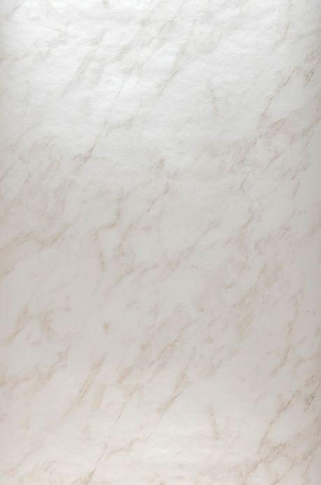 Archiv Papel de parede Marble Illusion branco creme Largura do rolo