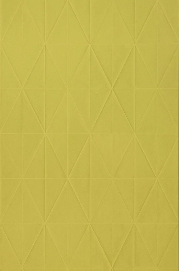 papier peint origami jaune vert papier peint des ann es 70. Black Bedroom Furniture Sets. Home Design Ideas