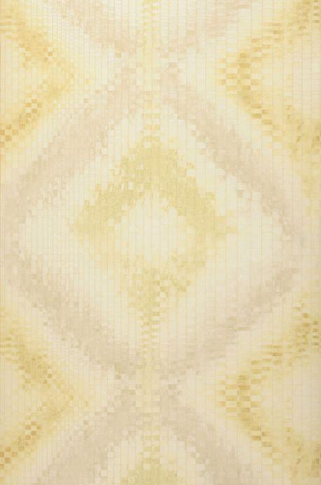 Archiv Papier peint Eniga jaune ocre Largeur de lé