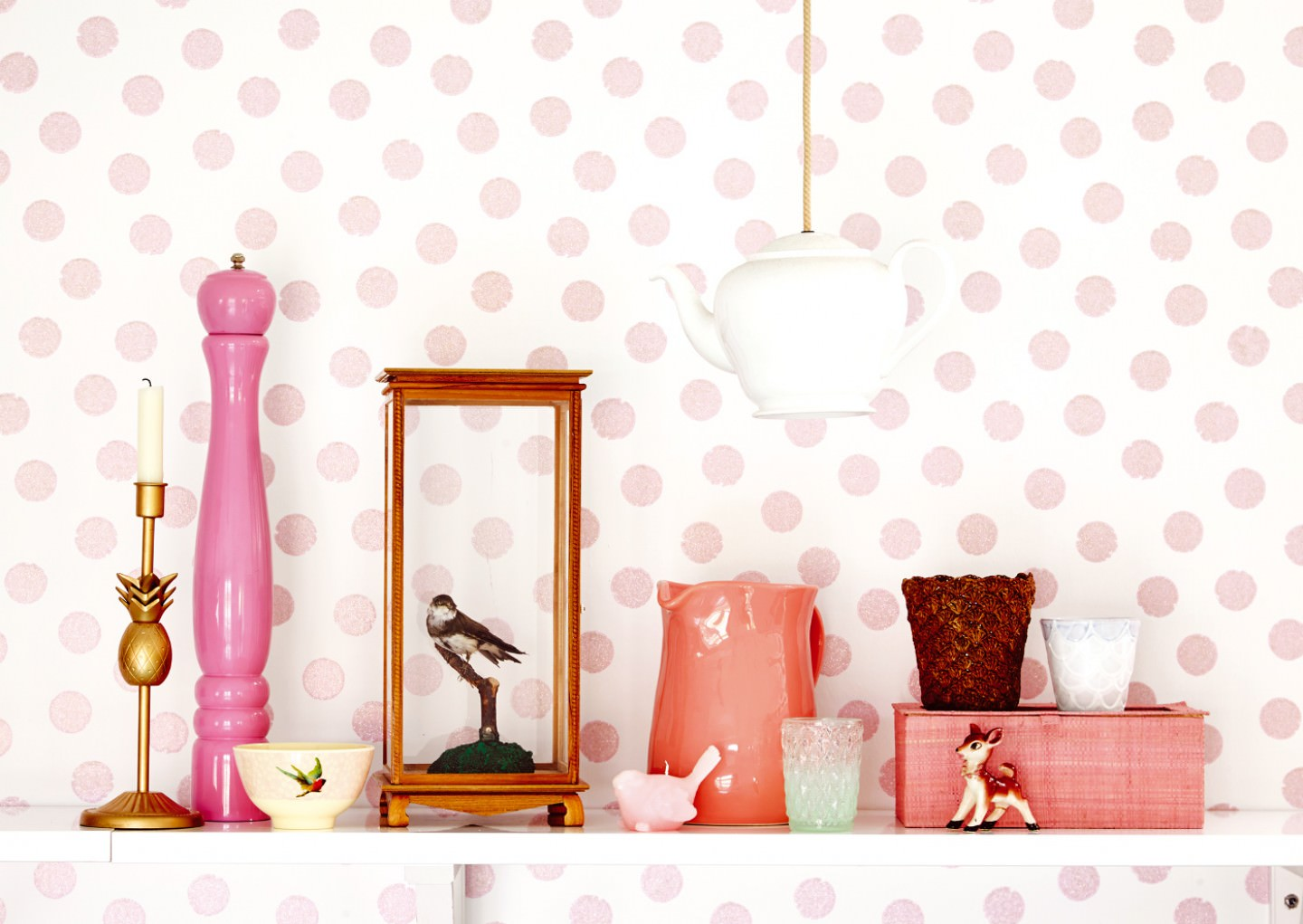 Timeless Wallpapers - polka-dot walls