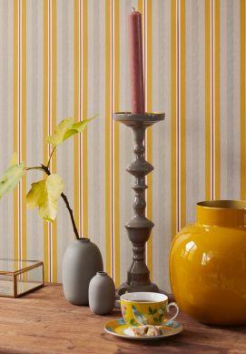 Wallpaper Stellar honey yellow Raumansicht