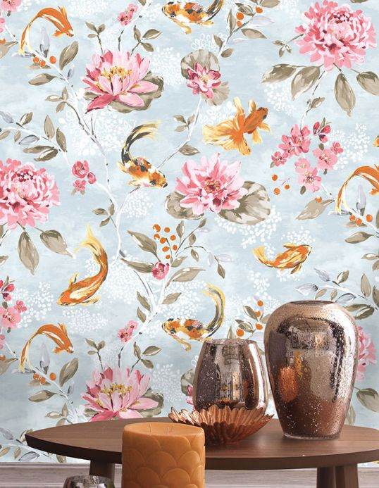 Archiv Wallpaper Liotta antique pink Room View