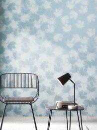 Papel de parede Gobetti azul claro