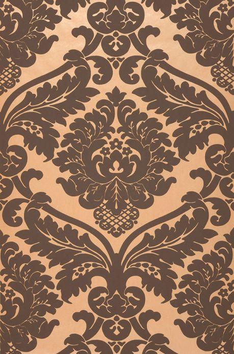 Archiv Wallpaper Rajah saffron yellow  Roll Width