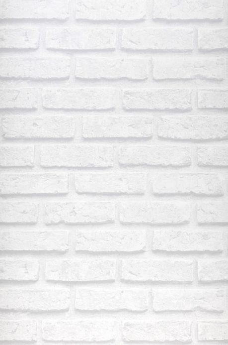 Industrial Style Wallpaper Wallpaper City Brick grey white Roll Width