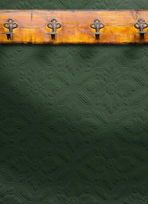 Wallpaper Howard Matt Historic flower patterns Historic damask White