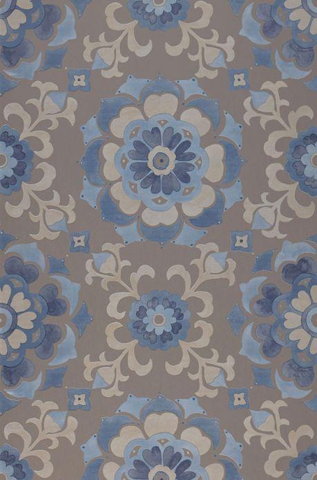Archiv Papier peint Saskia bleu pastel Largeur de lé