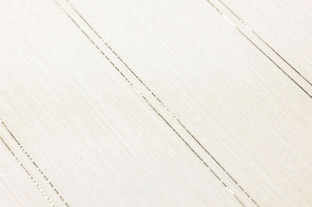 Wallpaper Viviane Shimmering Stripes Cream Gold glitter