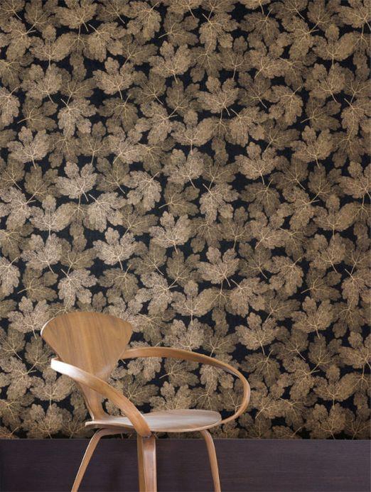 Archiv Wallpaper Gobetti pearl beige Room View
