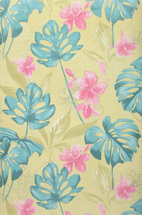 Archiv Wallpaper Ratinga pastel turquoise Roll Width