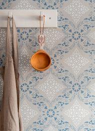 Wallpaper Isolda light grey