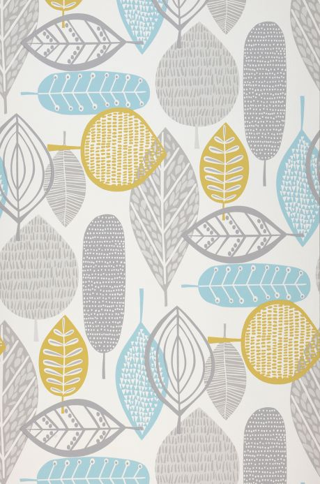 Country style Wallpaper Wallpaper Lilou mint turquoise Roll Width