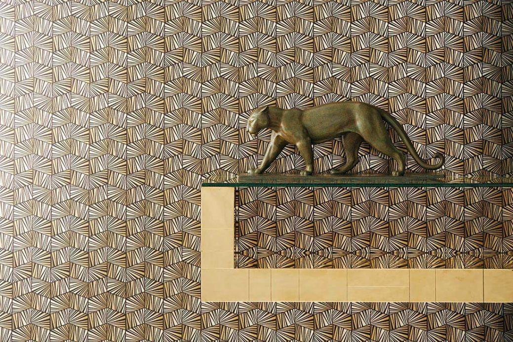 Archiv Papel de parede Gimog ouro lustre Ver quarto