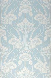 Papel pintado Sibia azul claro