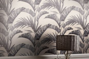 Wallpaper Jumana grey tones