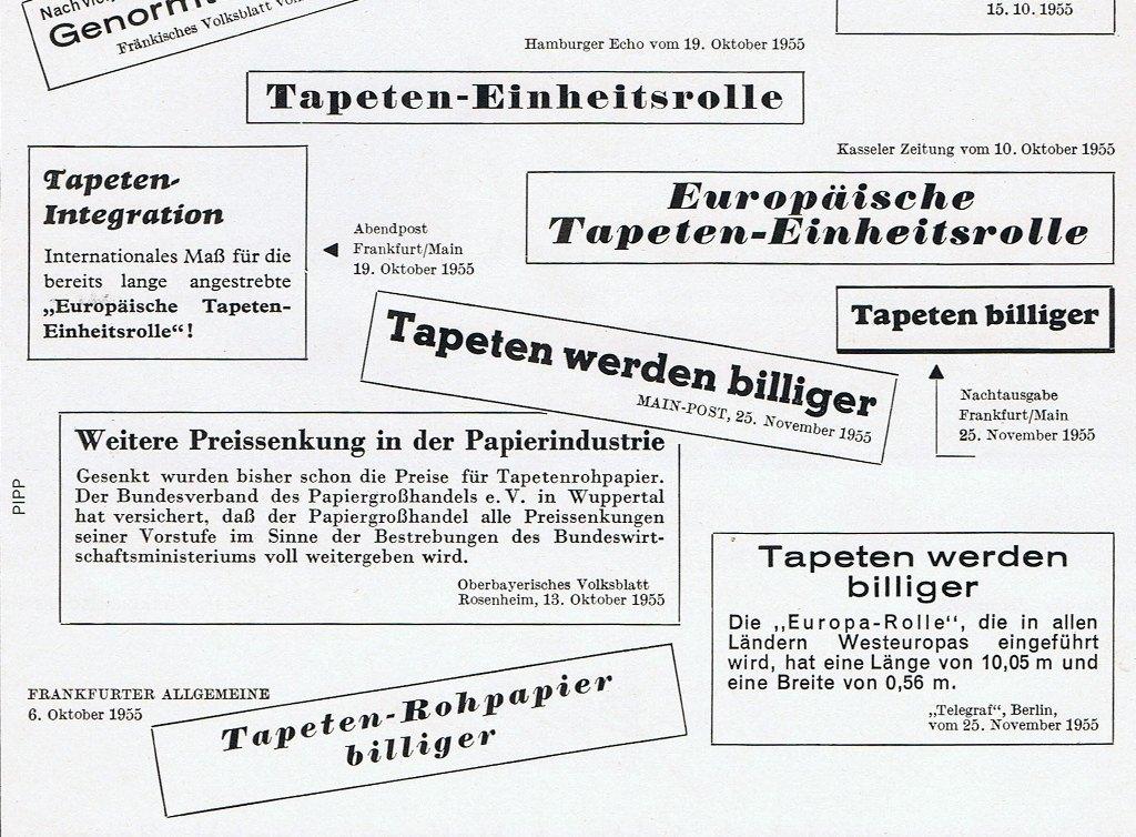 Tapeten-Neuigkeiten-50er