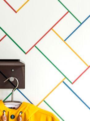 Papel de parede Sangallo multicolorido Ver quarto