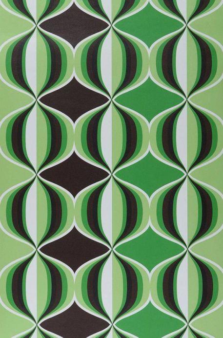 Archiv Papel pintado Delos verde Ancho rollo