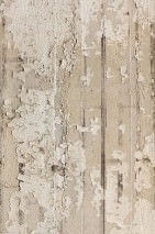 Wallpaper Concrete 06 Matt Shabby chic Imitation beton Light grey Pale brown Grey beige Black brown