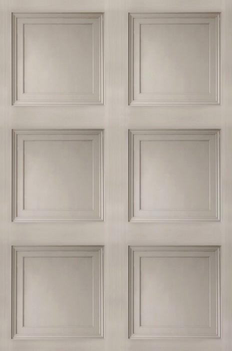 Papel pintado Avilio Mate Paneles de pared Gris beige pálido Gris sedoso
