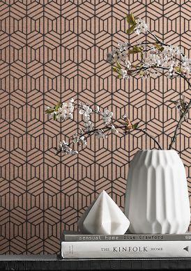 Wallpaper Rania rosé gold Room View