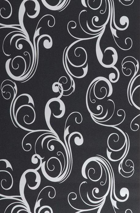 Archiv Papel pintado Occodo negro Ancho rollo