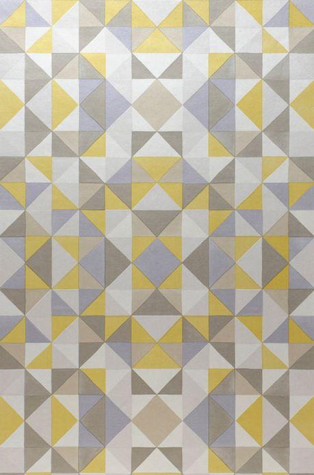 Archiv Papel pintado Sirius amarillo limón Ancho rollo