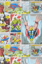 Wallpaper 1960s Marvel Comic Matt Comic Heroes White Blue Yellow Yellow green Grey Red Black