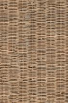 Wallpaper Rattan Weave Matt Woven Rattan Beige Light brown beige