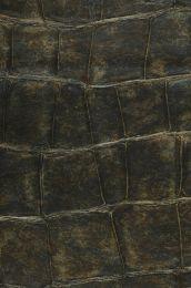 Papel de parede Croco 16 marrom esverdeado